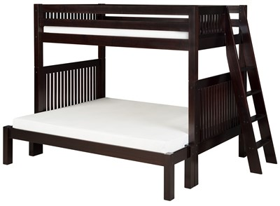 Camaflexi Twin Over Full Bunk Bed   Mission Headboard